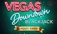 Multihand Vegas Downtown Blackjack